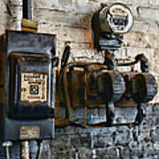 Electrical Energy Safety Switch Art Print by Paul Ward