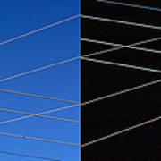 Electrical Grid Art Print