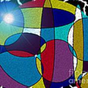 Electrifying Color Art Print by Lewanda Laboy