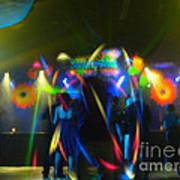 Electronic Dance Trance Art Print