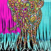 Elefantos - Cr01ac02 Art Print