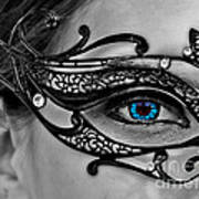 Elegant Mask Art Print