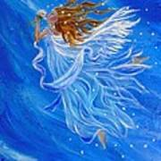 Elemental Earth Angel Of Wind Art Print