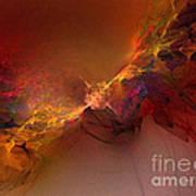 Elemental Force-abstract Art Art Print