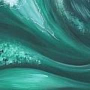 Elemental Sea No 2 Art Print
