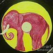 Elephant Cd Art Print