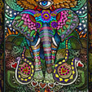 Elephant Dream Art Print