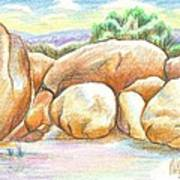 Elephant Rocks State Park II  No C103 Art Print