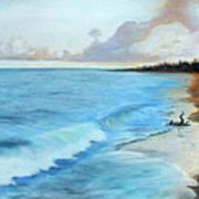 Eleutheran Seashore Art Print