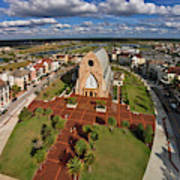 Elevated View Of Ave Maria Oratory Art Print