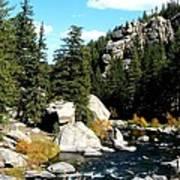 Eleven Mile Canyon Stream Art Print
