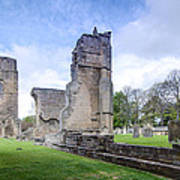 Elgin Cathedral Community - 19 Art Print by Paul Cannon