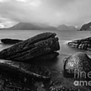 Elgol Beach Isle Of Skye Scotland Uk Art Print