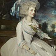 Elizabeth Countess Of Warwick Art Print