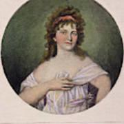 Elizabeth Monroe (1768-1830) Art Print