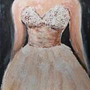Lacey Dress Art Print