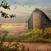 Elk County Art Print