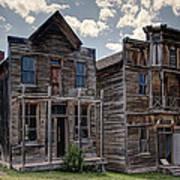 Elkhorn Ghost Town Public Halls - Montana Art Print