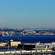 Elliot Bay Panorama Art Print