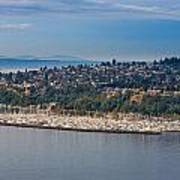 Elliott Bay Marina Art Print