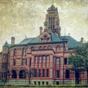Ellis County Courthouse Art Print