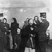 Ellis Island: Inspection Art Print