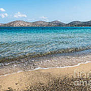 Elounda Beach Art Print