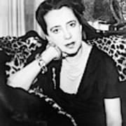 Elsa Schiaparelli (1890-1973) Art Print