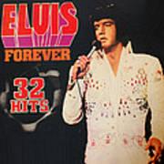 Elvis Album Art Print