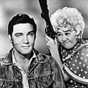 Elvis And Joan Art Print