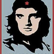 Elvis Che Guevara Viva Las Vegas Art Print