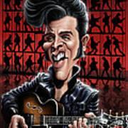Elvis In Memphis Art Print
