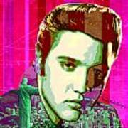 Elvis In Rio Art Print