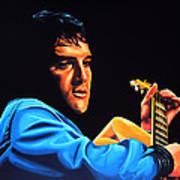 Elvis Presley 2 Painting Art Print