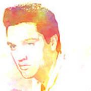 Elvis Presley - 6 Art Print