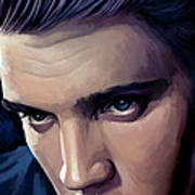 Elvis Presley Artwork 2 Art Print