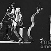 Elvis Presley Performing At The Fox Theater 1956 Art Print