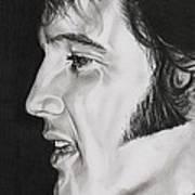 Elvis Presley  The King Art Print