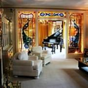 Elvis Presley's Living Room Art Print