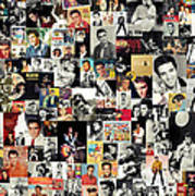 Elvis The King Art Print