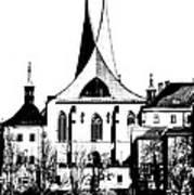 Emauzy - Benedictine Monastery Art Print