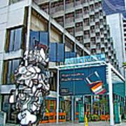 Embarcadero Buildings In San Francisco-california  Art Print