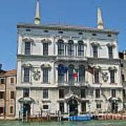 Embassy Building Venice Italy Art Print