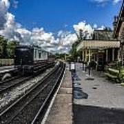 Embsay Railway Station Yorks Dales Art Print