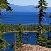 Emerald Bay -lake Tahoe Art Print
