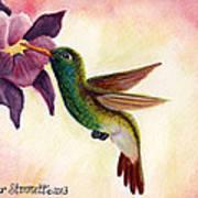 Emerald Beauty  Art Print