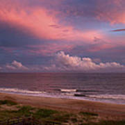 Emerald Isle Sunset Art Print