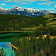 Emerald Lake - Yukon Art Print