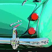 Emerald Palm Springs Art Print