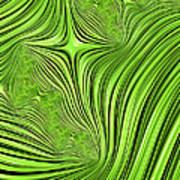 Emerald Scream Art Print